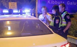 פעילות המשטרה בליל השנה החדשה (צילום: דוברות המשטרה, חדשות)