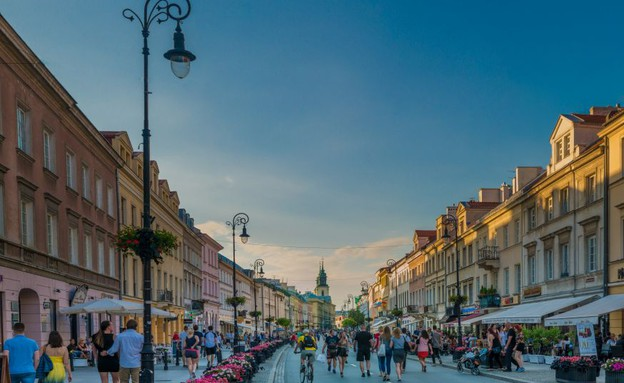ורשה קניות (צילום: לשכת התיירות של פולין)