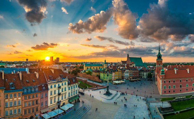 ורשה יפה (צילום: לשכת התיירות של פולין)
