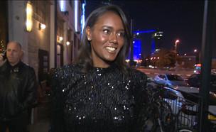 """טהונה רובל לובשת פייטים (צילום: מתוך """"ערב טוב עם גיא פינס"""", שידורי קשת)"""