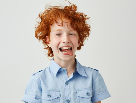 ילד שמח