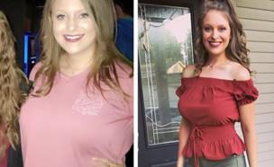 לקסי לואת'ר, לפני ואחרי (צילום: instagram)