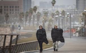 החורף חזר: גשמים, רוחות ושלג (צילום: Hadas Parush/Flash90, חדשות)