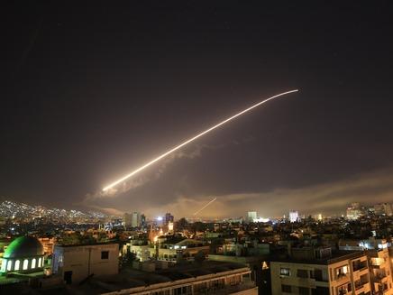 תקיפה אמריקנית בסוריה (ארכיון)