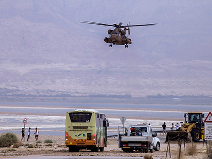 ניסיון החילוץ בנחל צפית בזמן האסון