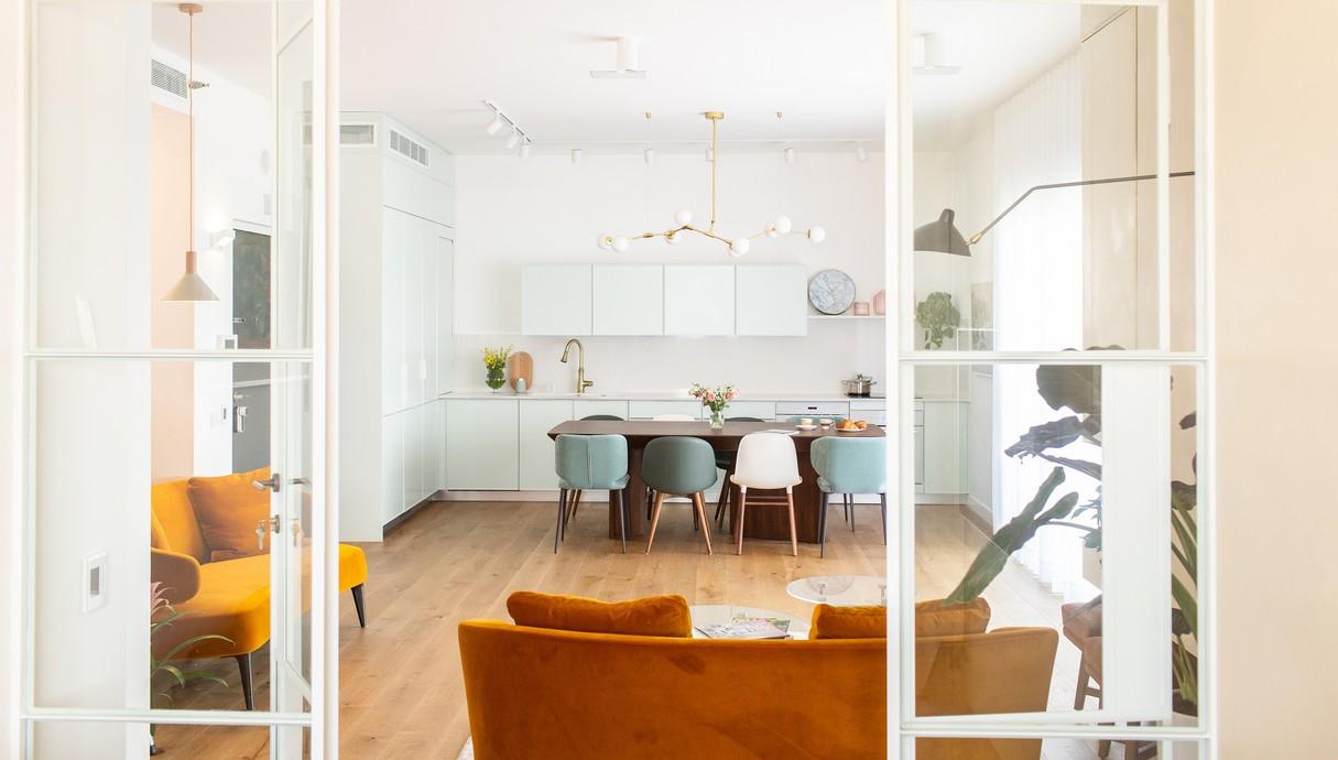 דירה בגבעת שמואל, עיצוב Studio Dash