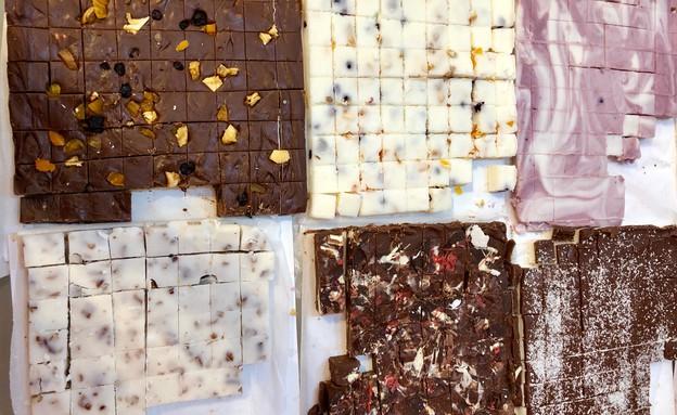 ממתקים של פעם פאדג'  (צילום: ריטה גולדשטיין, אוכל טוב)