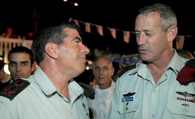 אשכנזי יחבור לגנץ? (צילום: Moshe Shai/FLASH90, חדשות)