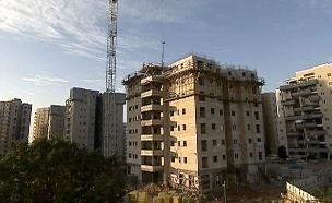 בנייה, דירות מגורים, בניינים (צילום: חדשות 2)