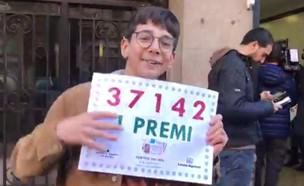 לוטו בספרד (צילום: צילום מסך מתוך: antena3.com)