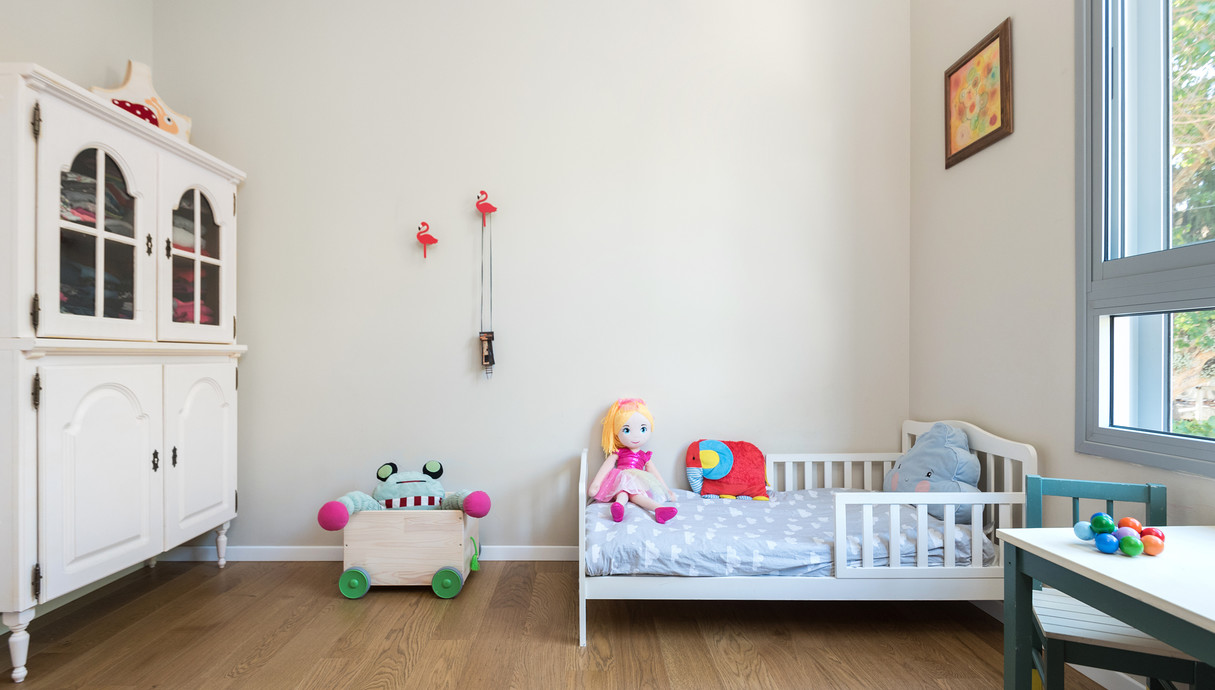 דירה בקריית שלם, עיצוב יוליה סטרוסלסקי, חדר ילדים