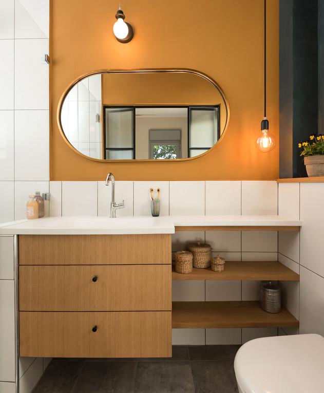 דירה בקריית שלם, ג, עיצוב יוליה סטרוסלסקי, חדר רחצה