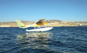 בים באוויר וביבשה - המטוס הימי באילת (צילום: רוי ריטר, חדשות)