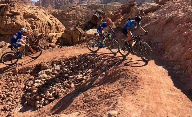 סינגל המכרות (צילום: איגוד האופניים בישראל)