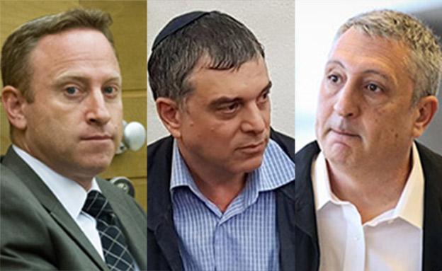 עדי המדינה נגד נתניהו, חפץ, פילבר והרו (צילום: מרים אלסטר / פלאש 90, חדשות)