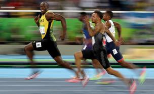 יוסיין בולט בחצי גמר 100 מטר לגברים באולימפיאדת ריו 2016 (צילום: Cameron Spencer, Getty Images)
