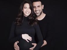 חגיגה בישראל: לנטלי לוי ודודו אהרון נולדה בת