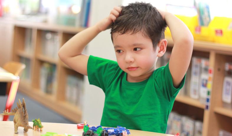 ילד מגרד בראש (אילוסטרציה: kateafter | Shutterstock.com )