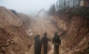 """המבצע לאיתור מנהרות חיזבאלל בצפון. (צילום: דובר צה""""ל, חדשות)"""