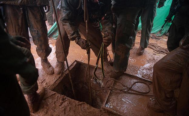 המבצע לאיתור מנהרות חיזבאללה.