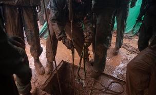 """המבצע לאיתור מנהרות חיזבאללה. (צילום: דובר צה""""ל, חדשות)"""