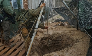 """הריסת מנהרות טרור בצפון (צילום: דובר צה""""ל, חדשות)"""