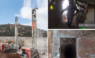 """כך נראה המבצע שנטרל את המנהרות (צילום: דובר צה""""ל, חדשות)"""