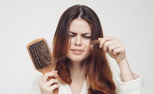 נשירת שיער (צילום: By Dafna A.meron, shutterstock)