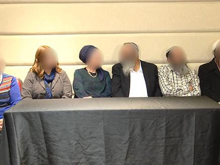 הורי החשודים במסיבת עיתונאים