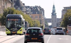 החל ממרס 2020 - תחבורה ציבורית בחינם בלוקסמבורג (צילום: Sky News, חדשות)