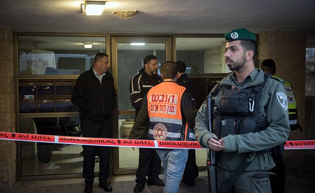 חשד לרצח כפול בירושלים (צילום: פלאש 90, נועם רבקין פנטון, חדשות)