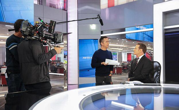 הבית של החדשות - ערוץ 12 (צילום: יוסי אלוני, חדשות)