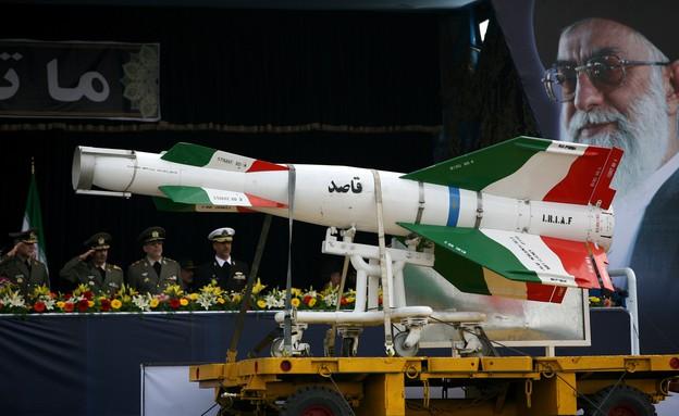 הצמרת האיראנית במבצע צבאי (צילום: gettyimages)