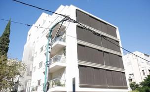 הבניין שבו רכש אהוד אולמרט את הפנטהאוז בתל אביב (צילום: מוטי מילרוד, TheMarker)