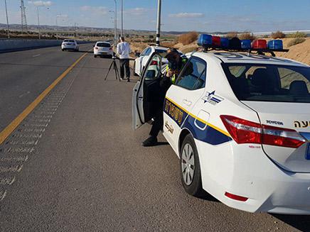 מבצע אכיפה נרחב של משטרת התנועה