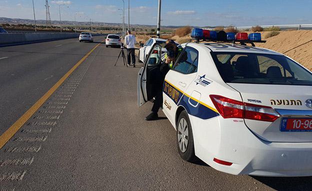 מבצע אכיפה נרחב של משטרת התנועה (צילום: דוברות המשטרה, חדשות)