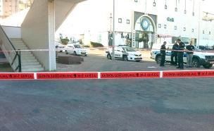 דקר עם מספריים על רקע רומנטי (צילום: משטרת מחוז דרום, חדשות)