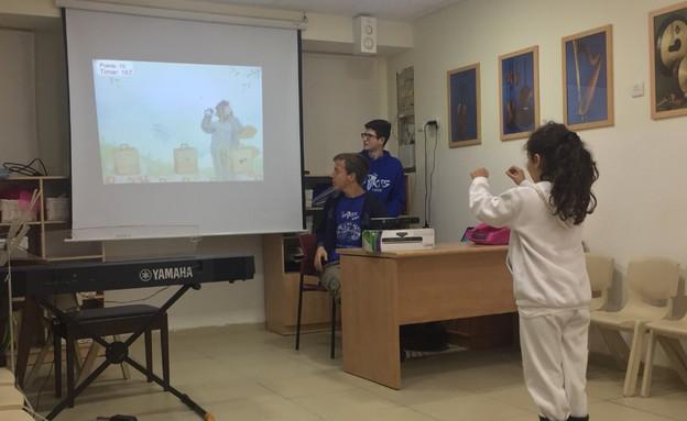 כיתת רובוטיקה, בית ספר עתיד לוד (צילום: באדיבות בית הספר)
