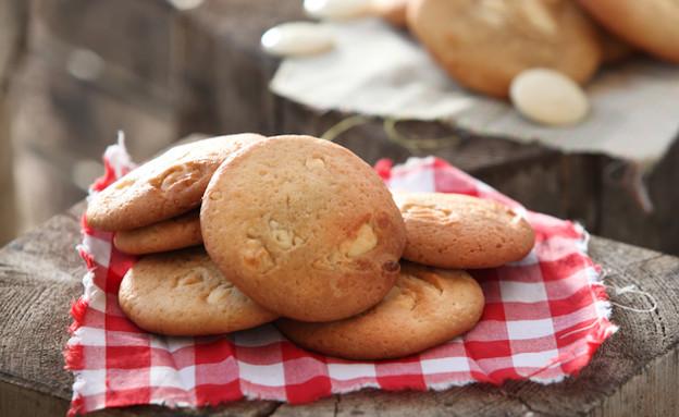 עוגיות שוקולד צ'יפס לבן (צילום: בני גם זו לטובה, אוכל טוב)