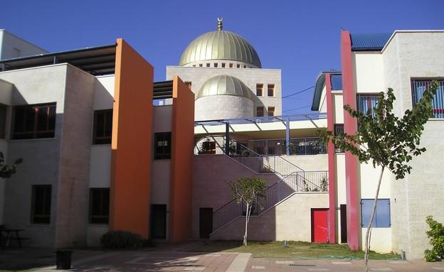 בית הספר עתיד אלאהליה באום אל פאחם (צילום: אתר בית הספר)