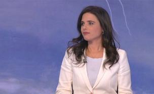 שרת המשפטים איילת שקד בריאיון לחדשות (צילום: החדשות)