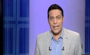 שדרן הטלוויזיה מוחמד אל  גהאטי (צילום: הטלוויזיה המצרית, חדשות)
