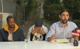 ישיר: מסיבת עיתונאים (צילום: החדשות)