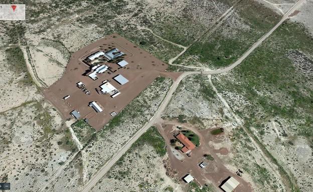 Corn Ranch, ג'ף בזוס (צילום: צילום מסך earth.google.com)
