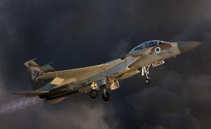 """מטוס """"רעם"""" ישראלי (ארכיון) (צילום: רויטרס, חדשות)"""