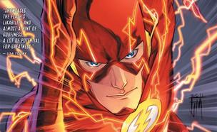 הפלאש קומיקס (צילום: DC comics)