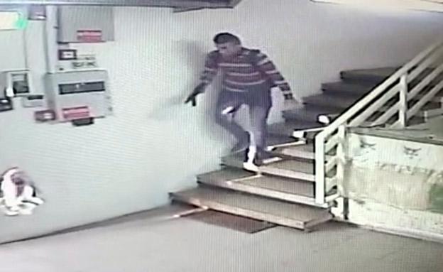 המחבל מפיגוע הירי בברקן (צילום: חדשות)