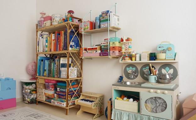 פריט מנצח, 12 כוננית צעצועים מראטן, עיצוב יערה ציקורל (צילום: יערה ציקורל)