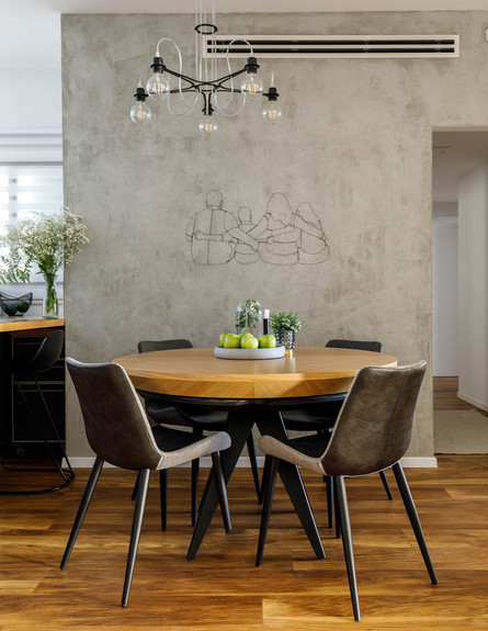 פריט מנצח, ג, 2, שולחן אוכל עגול, עיצוב-רוית רוד (צילום: אורית ארנון)