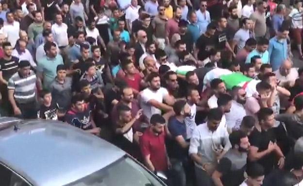 הלווייתה של ראבי (צילום: חדשות)